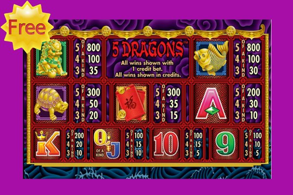 5 Dragons Slots - Play Aristocrats 5 Dragons Slot Machine / Pokie